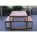Plantation 3 Piece Table Setting - 4 Seater