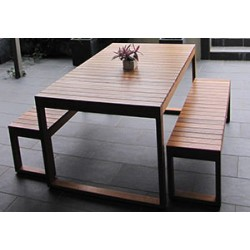 Plantation 3 Piece Table Setting - 6 Seater