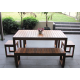 Plantation 5 Piece Table Setting - 10 Seater