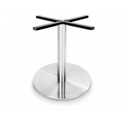 Prague 400 Round Table Base (Coffee Height)