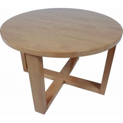 Chunk 700 Round Table (Coffee Height)