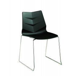 Avalon Chair with Sled Base