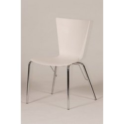 Dunton Dining Chair with Stainless Steel