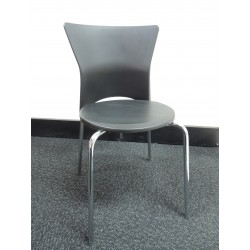 Bolton Dining Chair with Chrome Frame