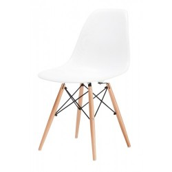 Replica Eames Chair with Timber Legs