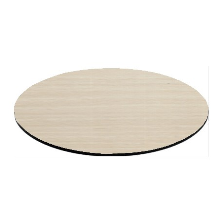 60cm Round Compact Laminate Table Top