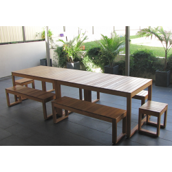 Plantation Table Setting - 14 Seater