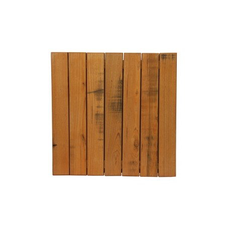 60cm Square Aged Solid Timber Table Top