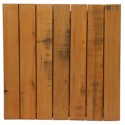 60cm Square Aged Outdoor Timber Table Top