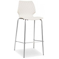 Uni Stool with Chrome Legs