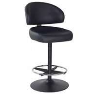 Kerala Gaming Stool with Black Base