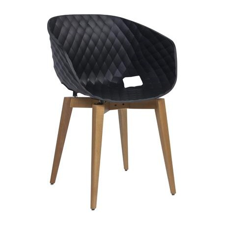 Unika Chair with Timber Legs