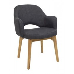 Albury Armchair with Timber Legs