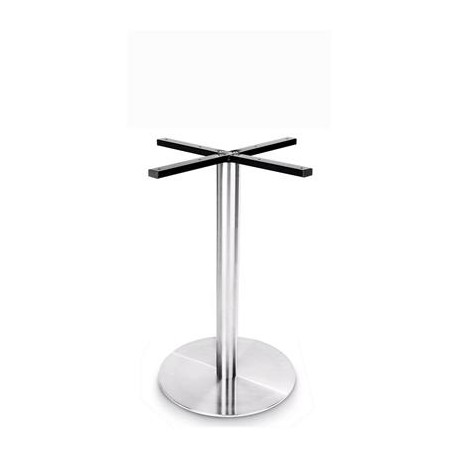 Prague 450 Round Table Base (Dining Height)