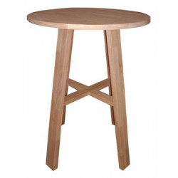 Chunk 800 Round Table (Bar Height)