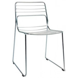 Cage Chair - Galvanised