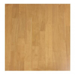 70cm Square Solid Timber Table Top