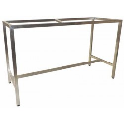 Barcelona 1800x700 Table Frame S/S (Bar Height)