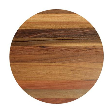 70cm Round Solid Timber Spotted Gum Table Top