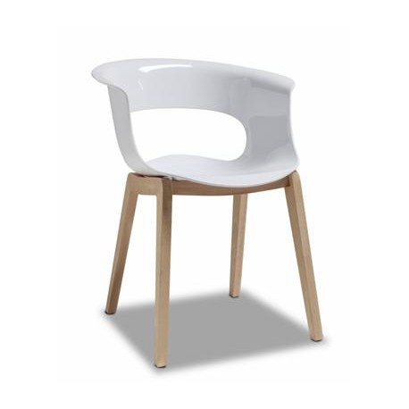 Miss B Chair with Timber Legs