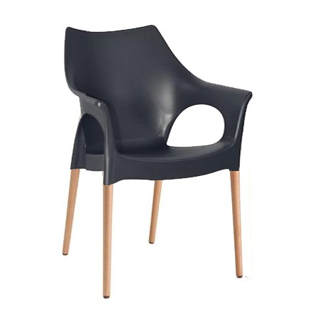 Ola Chair with Timber Legs
