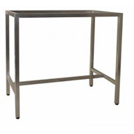 Barcelona 1200x700 Table Frame S/S (Bar Height)