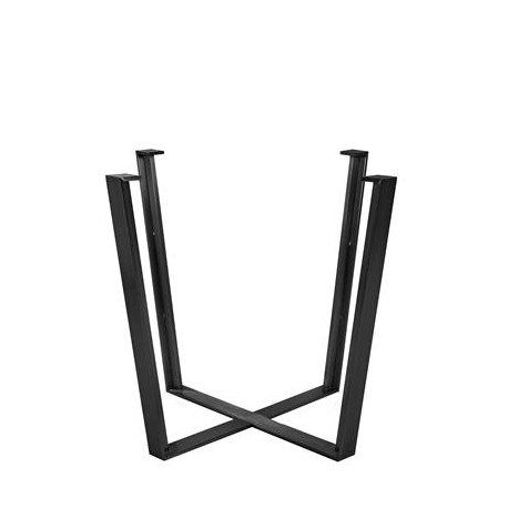 Iris Table Base - Powder Coated (Dining Height)