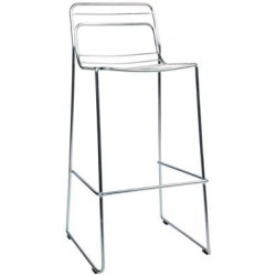 Cage Stool - Galvanised