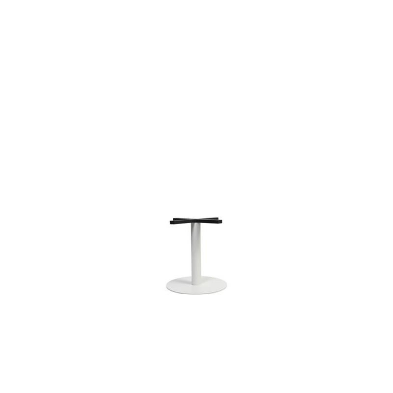 Coffee Height Square Small Table Base Round: Porto 400 Round Table Base (Coffee Height)