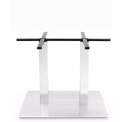 Prague 800x500 Rectangle Table Base (Dining Height)