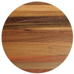 70cm Round Spotted Gum Solid Timber Table Top