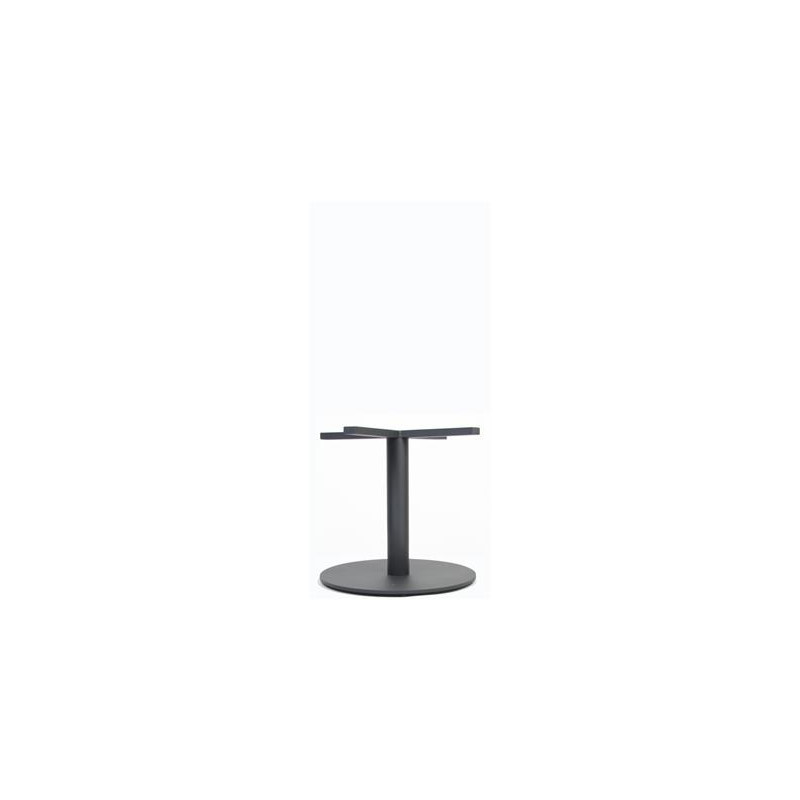 Coffee Height Square Small Table Base Round: Danube 400 Round Table Base (Coffee Height)
